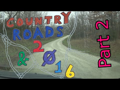 Country Roads & 2016 | 2 of 2 | Jacksonville, Cairo, & Moberly via Gravel Roads & 63