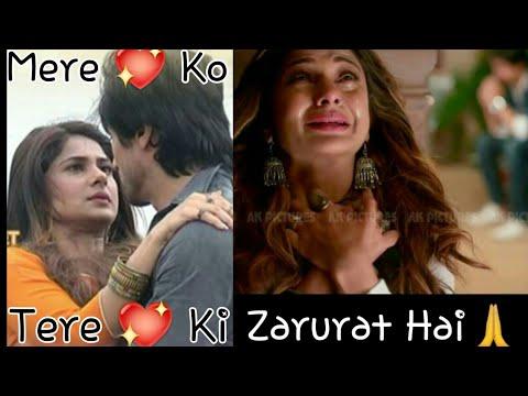 Mere Dil Ko Tere Dil Ki Zarurat Hai Song Watsapp Status|Zoya And Aditya Watsapp Status|Bepanah Song