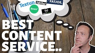 What's the BEST CONTENT WRITING SERVICE? - 5 content writing services reviewed