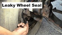 Truck Repairs: Steer Axle Wheel Seal