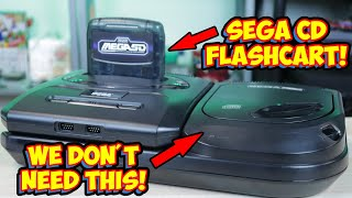 Play Sega CD Games From A Flashcart! Terraonion Mega SD Review!