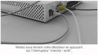 Décodeur TV : installation du second décodeur TV