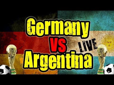 GERMANY VS ARGENTINA | WATCH THE GAME WITH ME | LIVE HANGOUT AKA WIR SIND WELTMEISTER!