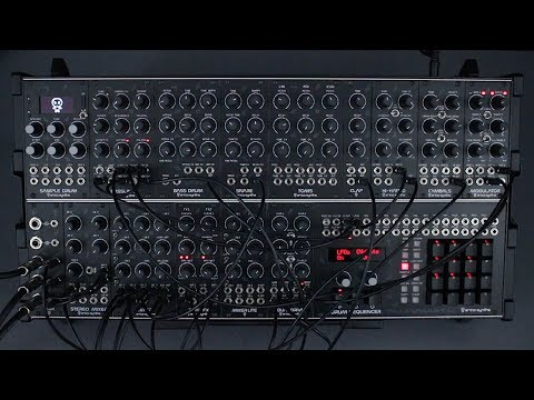Erica Synths Techno System sound demo