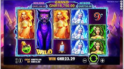 How to play Wild Spells - Feature game and free spins