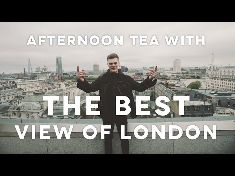 AFTERNOON TEA WITH THE BEST VIEW OF LONDON - TOPJAW AT RADIO ROOFTOP