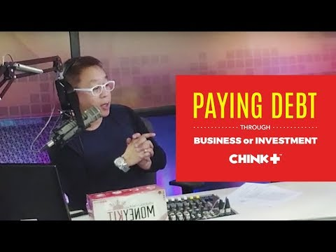 PAYING DEBT THROUGH BUSINESS OR INVESTMENT