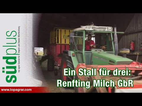 Ein Stall für drei: Renfting Milch GbR