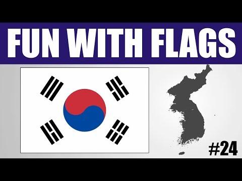 Fun With Flags #24 - South Korea