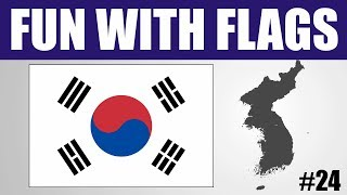 Fun With Flags #24 - South Korea