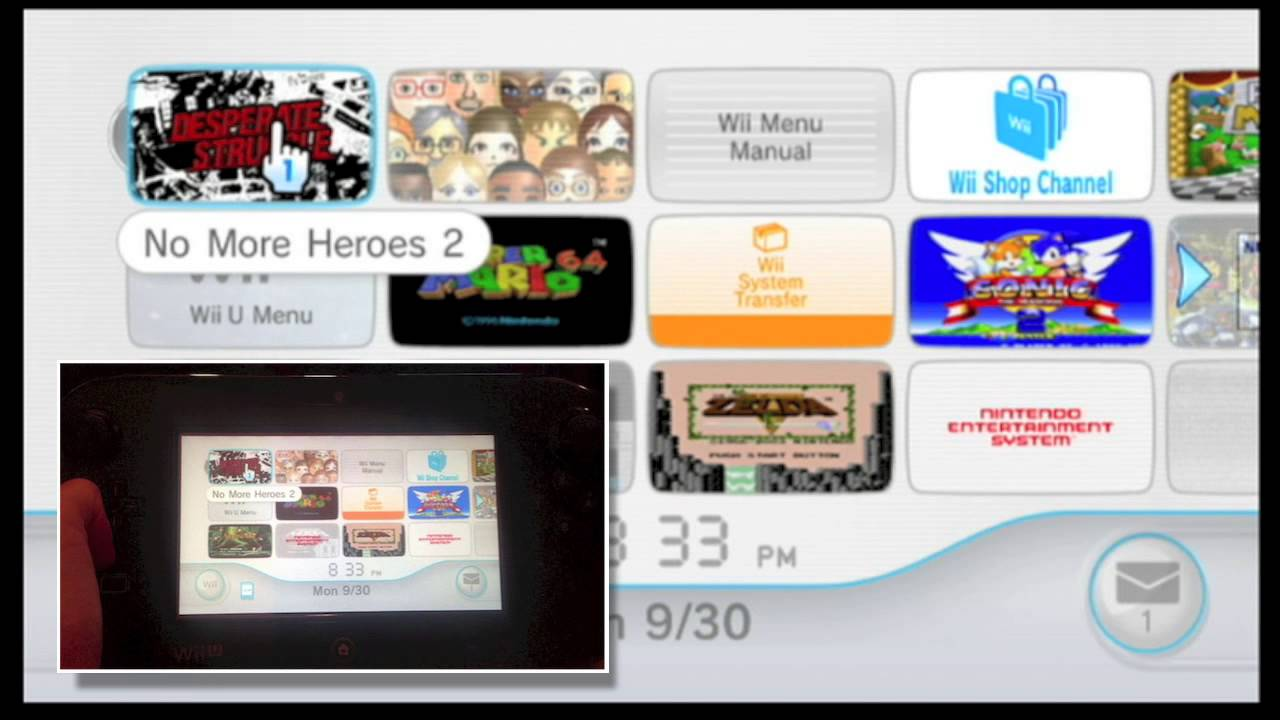 How to play wii games on your wii u gamepad youtube - Will wii u games play on wii console ...