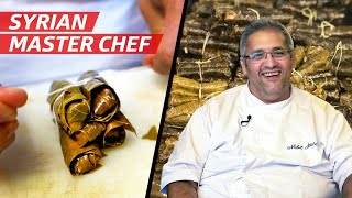 Chef Nabil Attard&#39s French-Syrian Take on Stuffed Grape Leaves  First Person