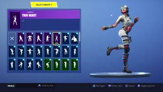 FORTNITE *FIELD SURGEON* SKIN SHOWCASE (BACK BLINGS AND EMOTES)