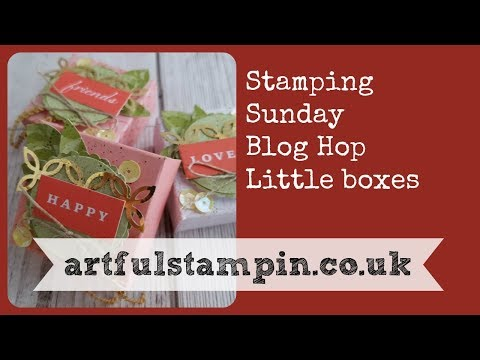 {Stamping Sunday Blog Hop Memories and More Little Box}