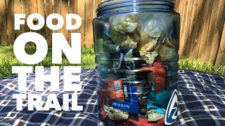 Backpacking food for 4 days and 3 nights: Ultralight food ideas