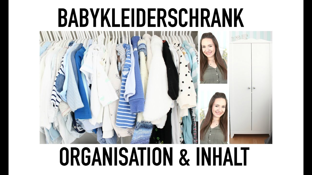 Baby Kleiderschrank I Organisation Aufbewahrung I Inhalt I Maria