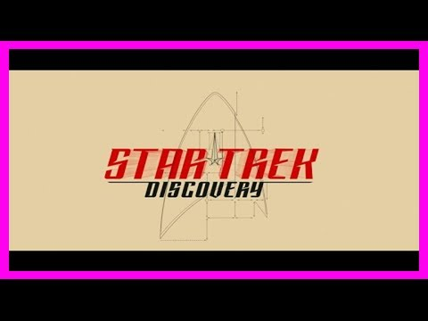 Breaking News | Beautiful opening credit sequence for star trek: discovery