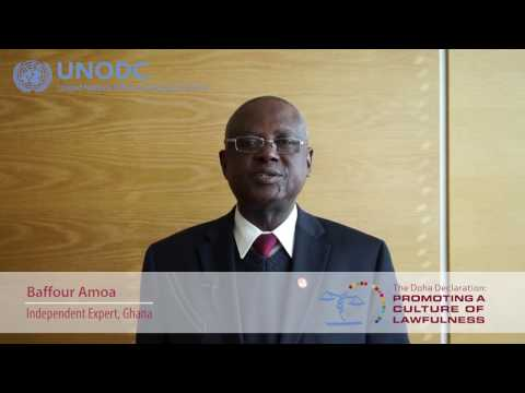 Education for Justice: Baffour Amoa, Independent Expert, Ghana