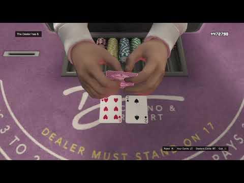 GTA 5 online Blackjack