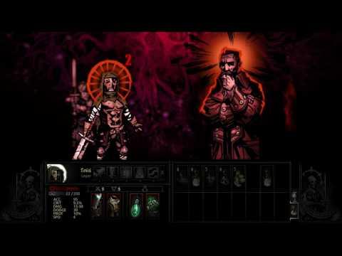 Darkest Dungeon - Stalwart Leper & Powerful Crusader vs Heart of Darkness