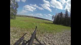 GoPro camera mounted on a FN MAG 7.62 mm GPMG