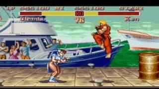 Super Street Fighter 2 - The New Challengers - Chun-Li vs Ken (Super Nintendo) thumbnail