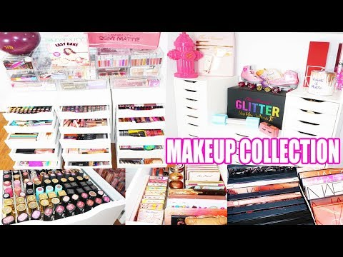 Makeup Collection & Organization 2019! Part One. thumbnail