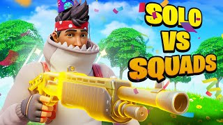 I got 2 Solo VS Squads Wins on my 25th Birthday!
