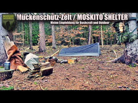 Mückenschutz-Zelt / Moskito Shelter für Bushcraft und Outdoor Aktivitäten - meine Empfehlung.