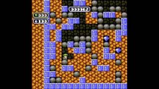 NES Longplay [639] Boulder Dash