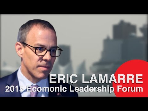 Eric Lamarre, McKinsey & Co. Canada - Economic Leadership Forum, Vancouver 2015