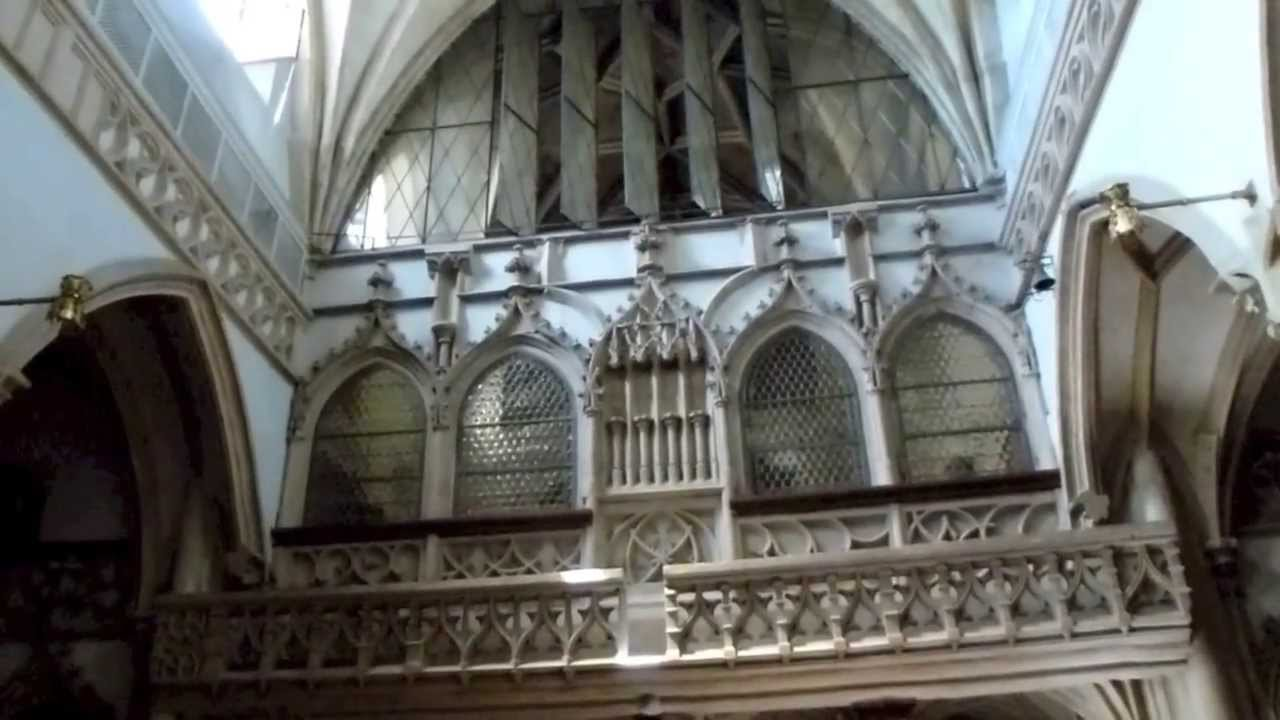 Interior of Nonnberg Abbey | Straube Photography