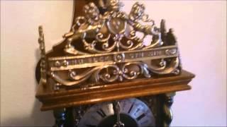 Warmink Dutch 8 Day Nut Wood Zaanse Wall Clock For Sale On Ebay Uk.