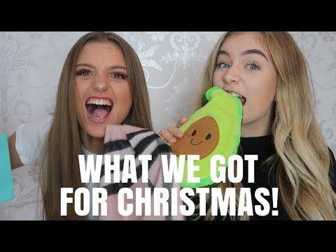 WHAT WE GOT FOR CHRISTMAS! Grace and Grace