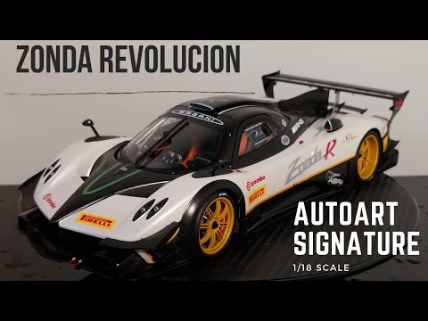 "AUTOart 1/18 Pagani Zonda Revolucion White Review ""Autoart's finest?"""