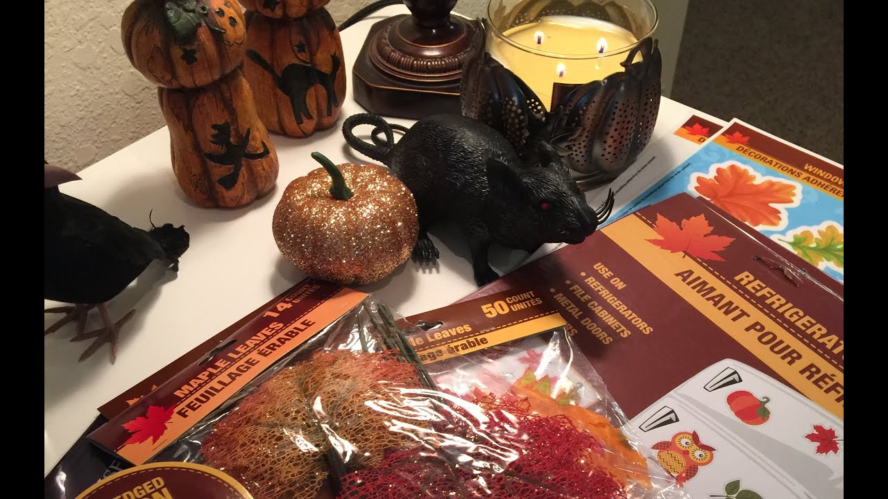 more fall and halloween decor featuring big lots youtube - Big Lots Halloween Decorations