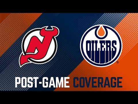 ARCHIVE   Oilers Post-Game Coverage vs. New Jersey