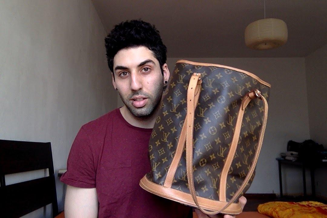 4e8ef703f07d Louis Vuitton Bucket Bag GM - YouTube
