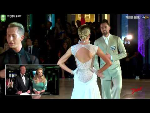 2017 Open Professional Smooth at the Emerald Ball Dancesport Championships