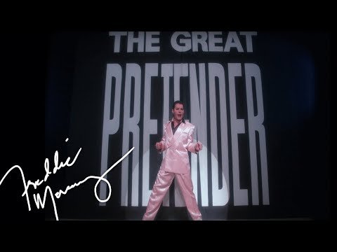 Freddie Mercury - The Great Pretender (Official Video)