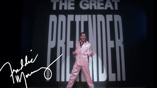 Freddie Mercury - The Great Pretender (Official Video)(Click here to subscribe - http://smarturl.it/sub2FreddieMercuryYT Freddie Mercury - The Great Pretender (1987) This memorable video, Directed by David Mallet, ..., 2012-11-23T00:44:53.000Z)