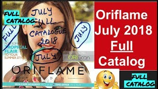 Oriflame July 2018 FULL Catalog | HD | All pages