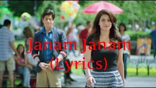 Janam Janam Full Song   Arijit Singh & Antara Mitra   Dilwale 2015   With Lyrics