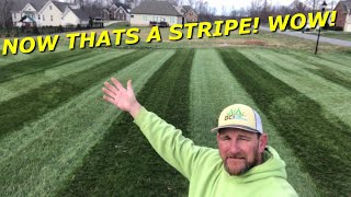 Ventrac just showed up at my house?!? Ventrac Finish Mower Stripes!...