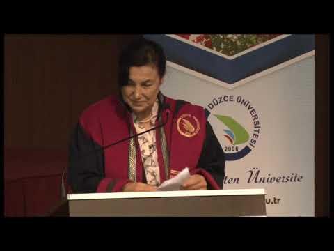 Düzce Üniversitesi 2019-2020 Önlük Giyme Töreni