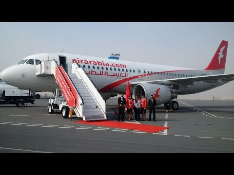 Air Arabia A320 Tangier Morocco Departure