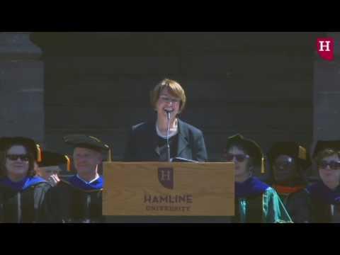 Amy Klobuchar Commencement Speech
