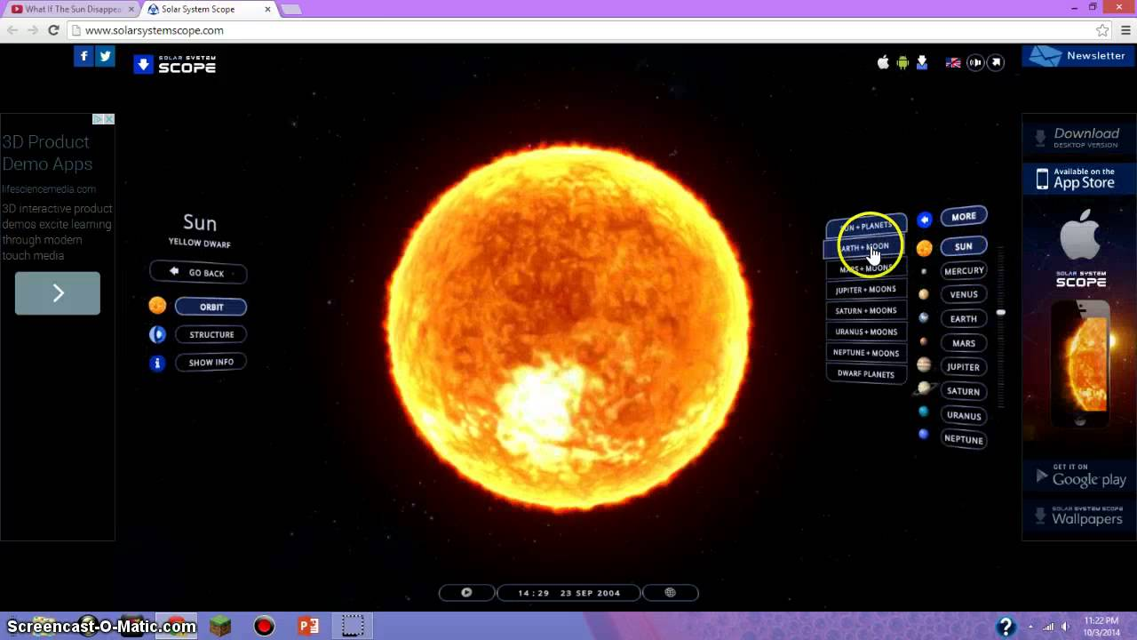 Science | Solar System Scope - YouTube