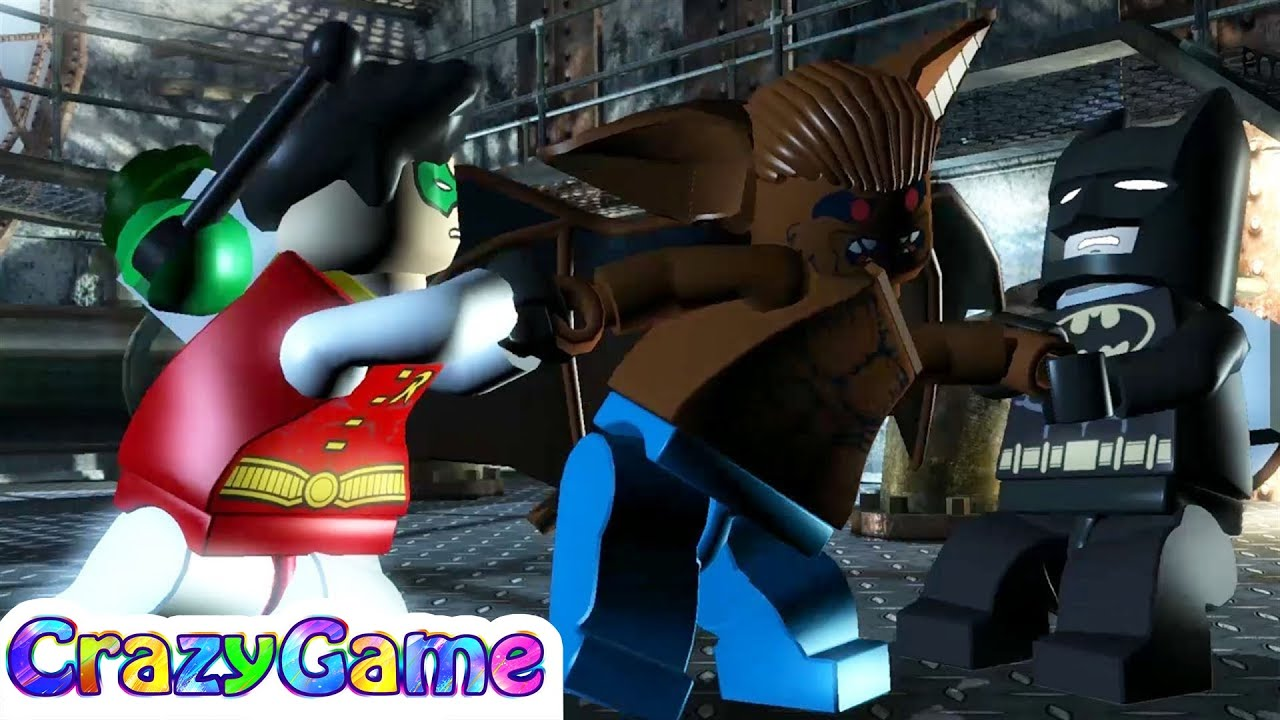 #Lego #Batman The Videogame 100% Guide #9 Zoo's Company ...