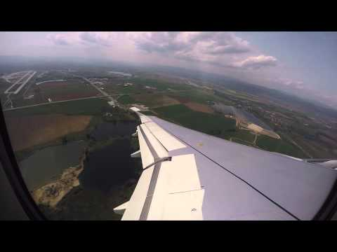 Bulgaria Air Take off from Sofia airport